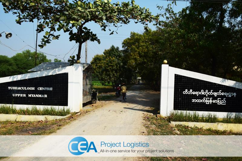 Tuberculosis Centre Upper Myanmar - CEA Project Logistics Myanmar