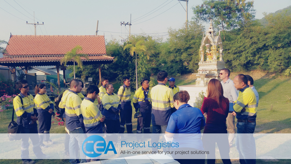 CEA Project Logistics Staff awarded safety award