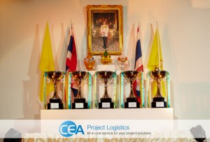 CEA Racing - TR Motorsport Thai Prince and royal trophies
