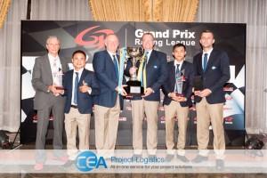 CEA Racing - TR Motorsport Team with trophy