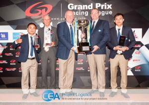 CEA Racing - TR Motorsport team with trophy 2
