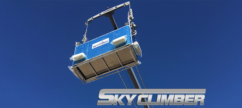 Skyclimber in action