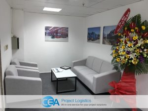CEA Projects Vietnam waiting area
