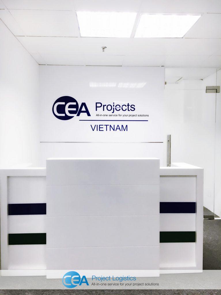 CEA Projects Vietnam Reception area