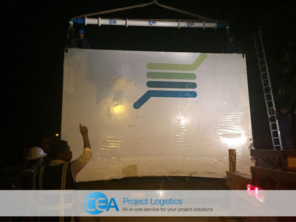 Heavy Lift Myanmar - - CEA Project Logistics Myanmar