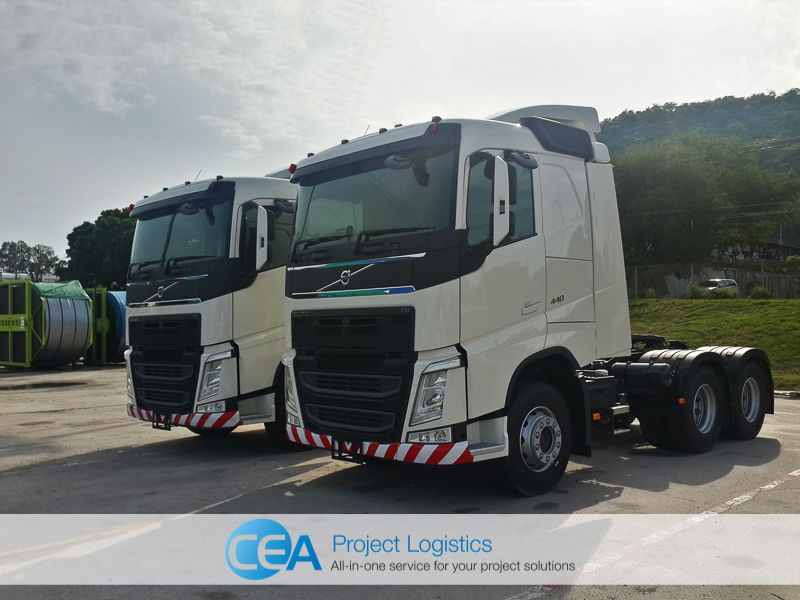 Volvo FH 440 Side profile - CEA Project Logistics Laem Chabang