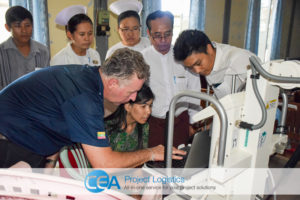 CEA Myanmar Complete X-Ray Machine Project 1