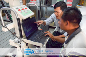CEA Myanmar Complete X-Ray Machine Project 3