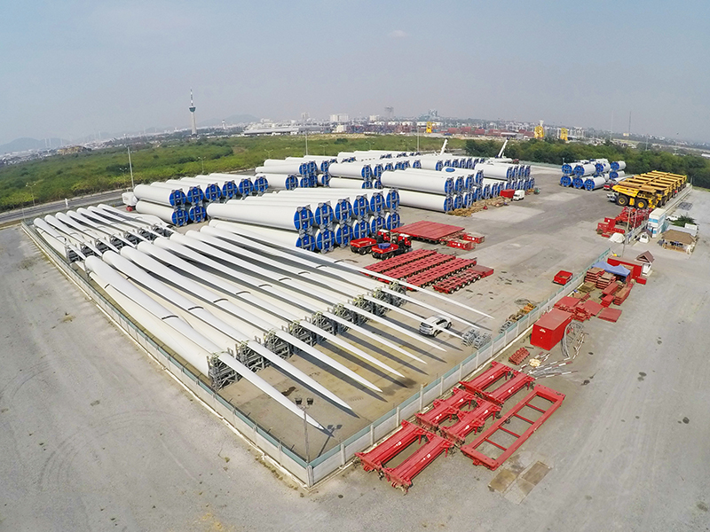 Aerial View of CEA Project Logistics Free Trade Zones Laem Chabang Port