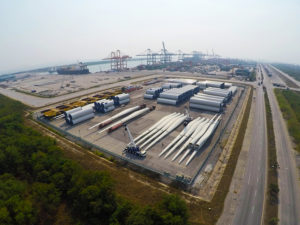 Aerial View of CEA Project Logistics Free Trade Zones