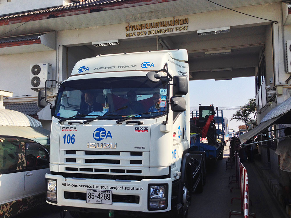CEA Project Logistics Vietnam Cross Border