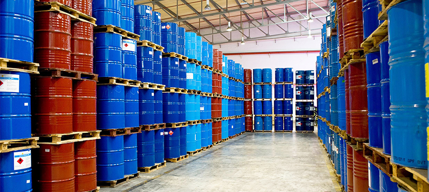 Pharma Chemicals in barrels storage - CEA Project Logistics