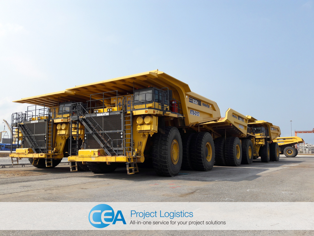 Komatsu 830e in the CEA Free Trade Zone