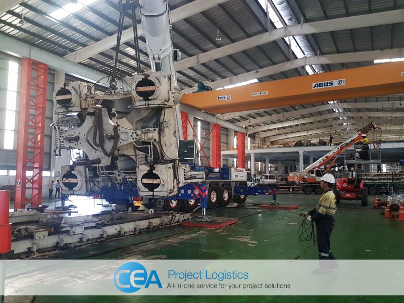 CEA Project Logistics Demobilisation