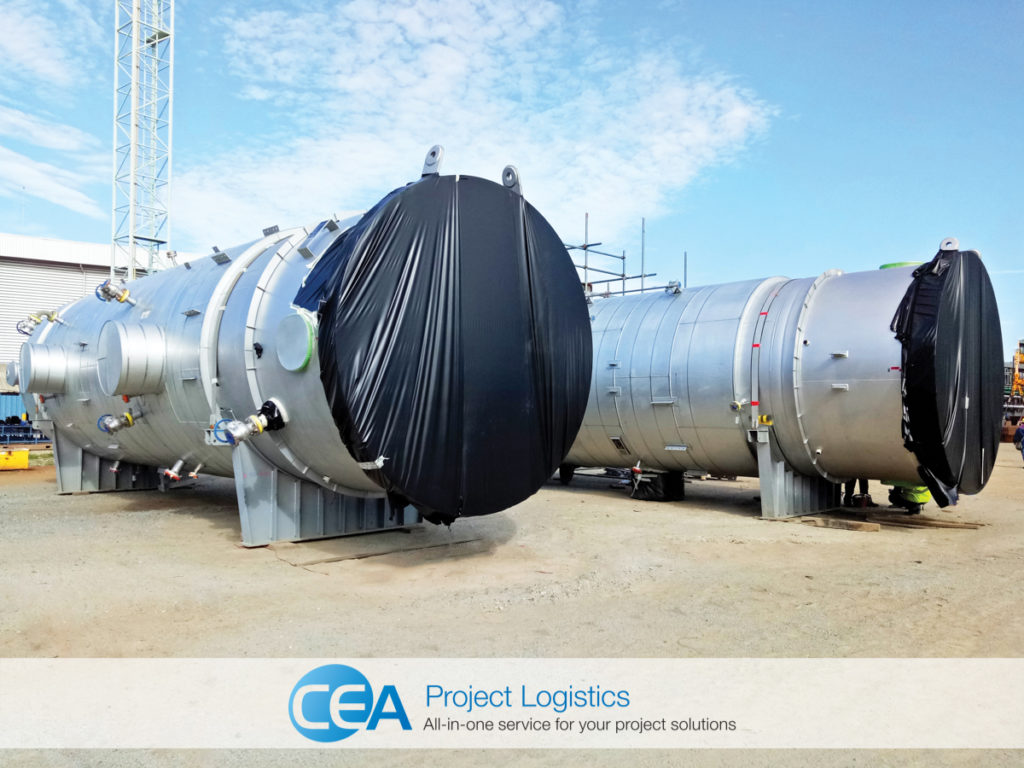 ethoxylation plant preservation by CEA Project Logistics