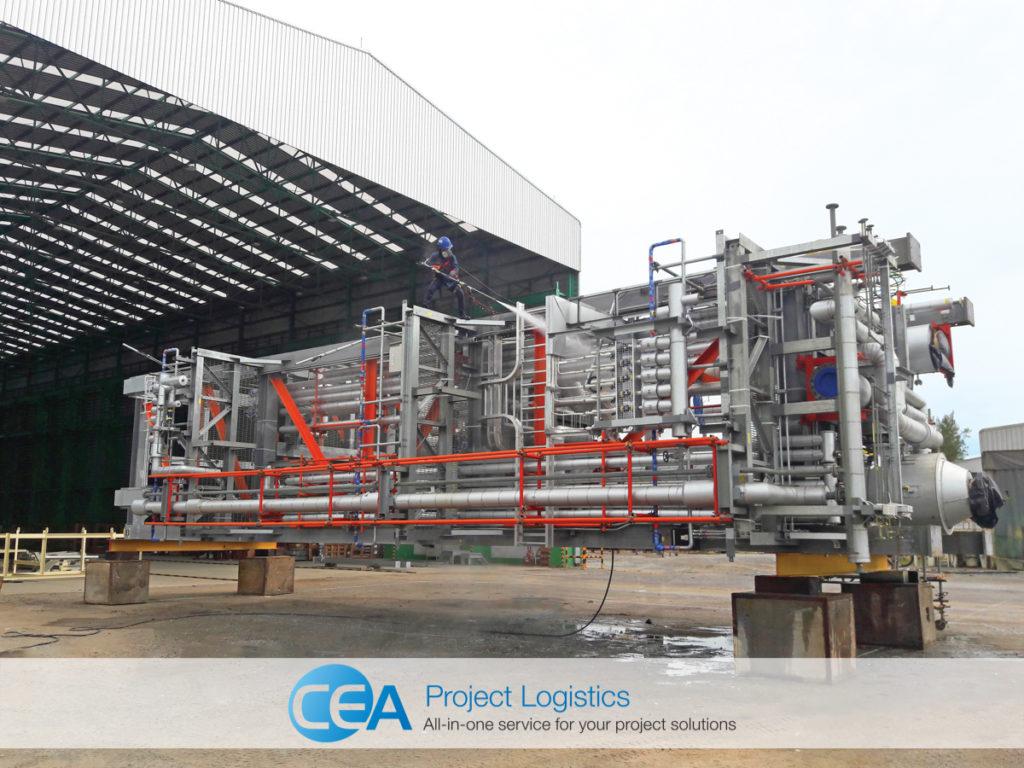 ethoxylation plant washdown of modules
