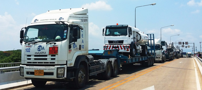 CEA Project Logistics Vietnam Cross Border Transport