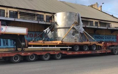 CEA Projects Vietnam - Radioactive Tank Shipping