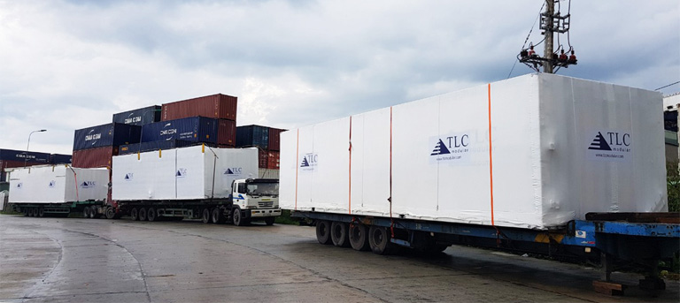 CEA Project Logistics Vietnam - Modular Transport